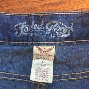Faded Glory Shorts - Women's size 12 shorts.